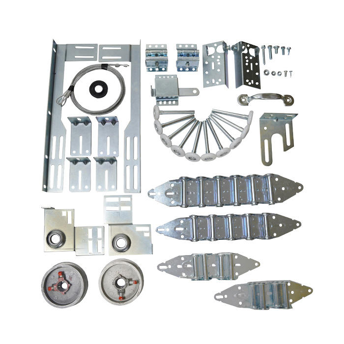 Garage Door Hardware Kit 16x7,18x7 for 7feet high door one car