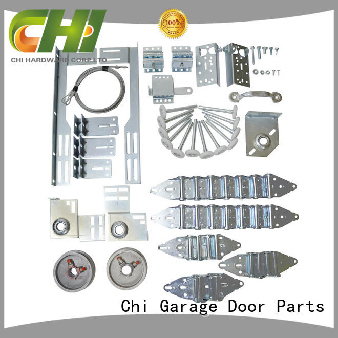 garage door hardware kit & garage door chain hoist installation