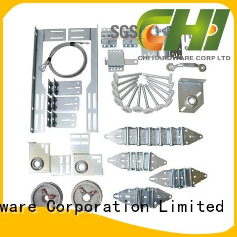 Chi Latest sectional garage door hardware from China for industrial door