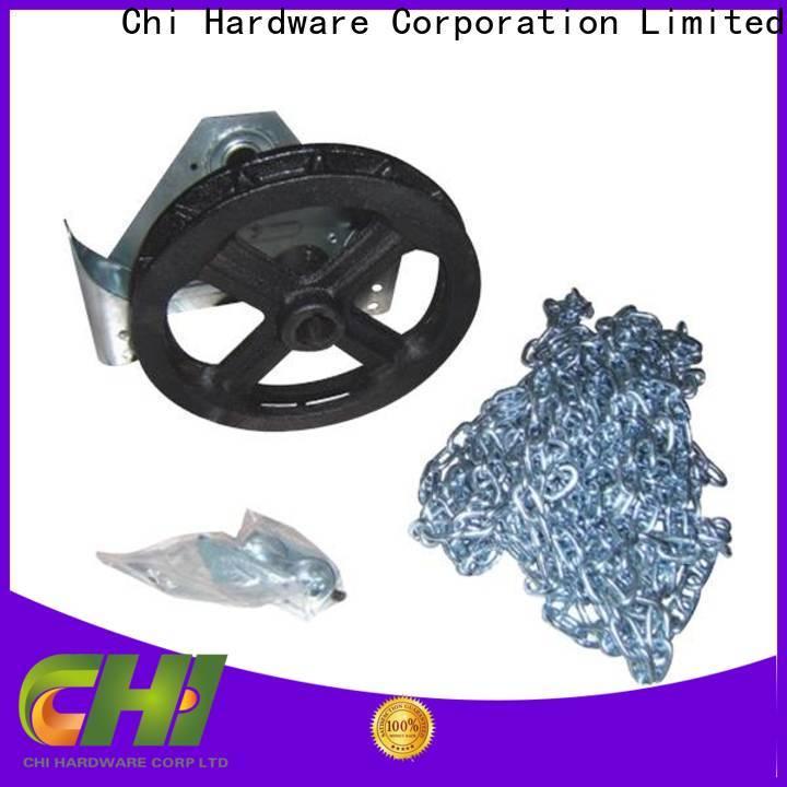 Chi excellent ratchet chain hoist overseas market for industrial door