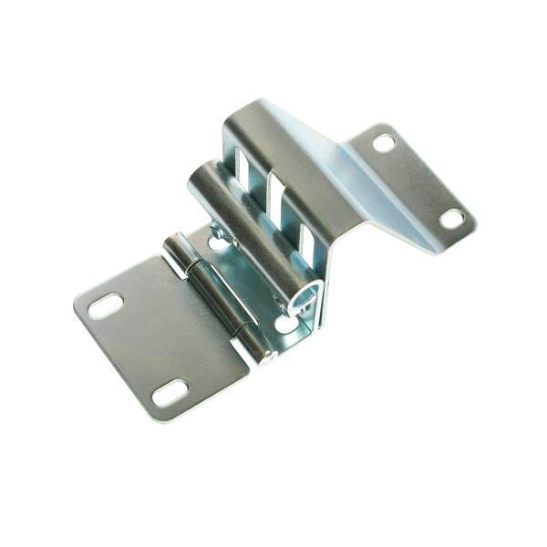 Finger-Proof Garage Door Side Hinge With Roller Carrier Sectional Industrial Door Hardware CH1604