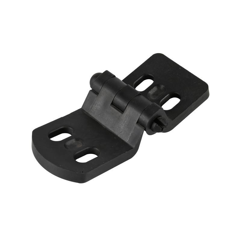 Customized Black Plastic Garage Door Hinges / Nylon Hinges for Sectional Garage  Door