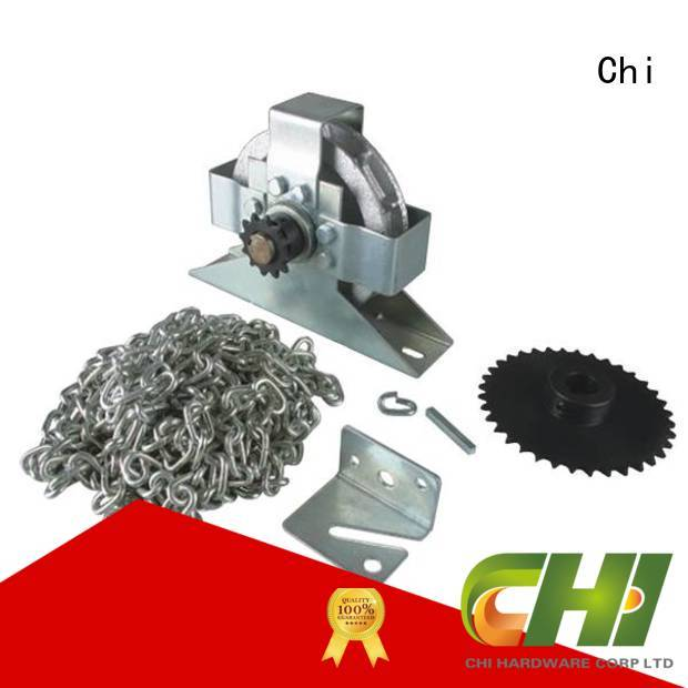 Chi professional garage door manual chain hoist company for industrial door